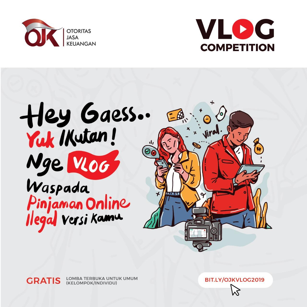 Vlog Competition Waspada Pinjaman Online Ilegal Versi Kamu