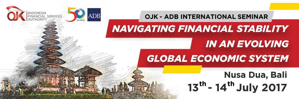 OJK dan ADB Gelar Seminar Internasional di Bali